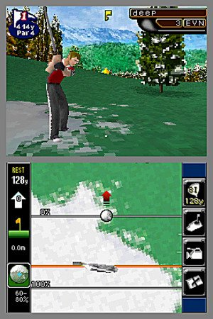 True Swing Golf - Nintendo DS - 1