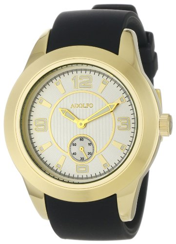 ADOLFO Men's 31007B Second Sub Zone Large Face Watch