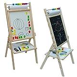 Standkindertafel 89x40cm Magnettafel Kindertafel Abakus Schultafel Standtafel Maltafel hergestellt von toys4u