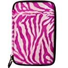 (Hot Pink Zebra) VG Animal Fur Covered Protective Cube Carrying Case for Samsung Galaxy Tab 2 (7.0) Android Wireless Tablet (8GB 16GB Wi-Fi)