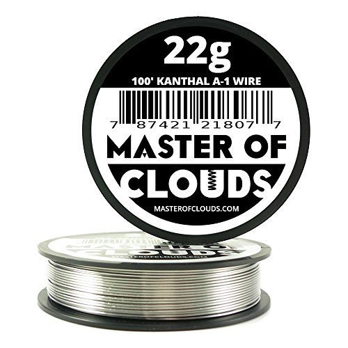 100 ft - 22 Gauge Kanthal A1 Resistance Wire from Master Of Clouds (Master Gauge compare prices)