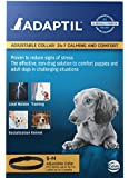 Adaptil Calming Pheromone Adjustable Collar for Stressful Small Dogs or Puppy Training max. Neck Size 14.7-Inch