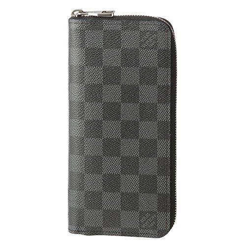 ルイヴィトン(Louis Vuitton) ダミエ・グラフィット DAMIER GRAPHITE N63095 長財布(ラウンドファスナー) ブラック 黒 / グレー[並行輸入品]