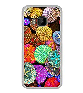 Bright Colour Pattern 2D Hard Polycarbonate Designer Back Case Cover for HTC One M9 :: HTC One M9S :: HTC M9 :: HTC One Hima