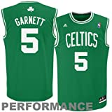 NBA Boston Celtics Kevin Garnett Road Replica Youth Jersey, Green, Small at Amazon.com