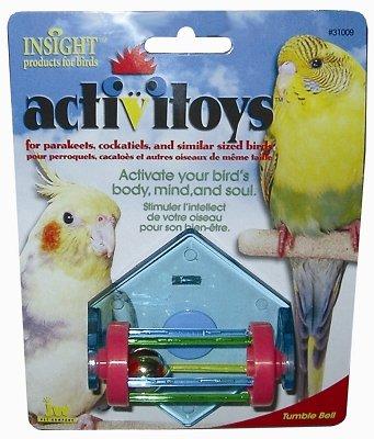 Cheap Brand New, JW PET COMPANY, INC – TUMBLE BELL BIRD TOY (BIRD PRODUCTS – BIRD – TOYS: VARIOUS) (MSSJW31009-LT 1)