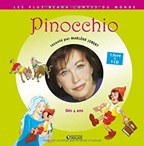 Les Contes Musicaux De Marlene Jobert: Pinocchio (French Edition
