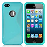 Minisuit S Shape Case for iPhone 5/5S (Green Turquoise)