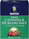 Morton Canning and Pickle Salt, 4-Pound (Pack of 9)