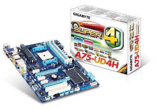 Gigabyte SKT-FM1 A75-UD4H Motherboard (Rev 1.0)