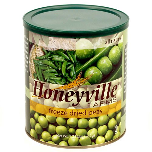 Freeze Dried Peas - 1.25 Pound Can (Honeyville Freeze Dried Products compare prices)