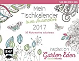 Mein-Tischkalender-zum-Ausmalen-2017-Farbe-rein-Stress-raus-Ausmalen-fr-Erwachsene-Inspiration-Garten-Eden-52-Naturmotive-kolorieren-Mein--rein-Stress-raus-Ausmalen-fr-Erwachsene