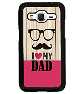 PrintDhaba Quote D-3565 Back Case Cover for SAMSUNG GALAXY CORE PRIME (Multi-Coloured)