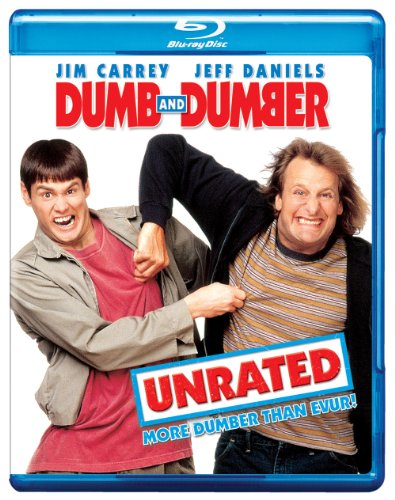 Cover art for  Dumb and Dumber (Unrated Edition) [Blu-ray]