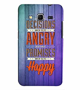 PrintVisa SAMCOREPRIME-Quotes & Messages Life Back Cover (Multicolor)