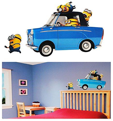 2 st ck xl wandsticker minion ich einfach for Kinderzimmer auto