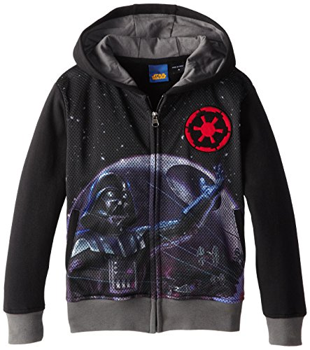 Star Wars Little Boys' Vapor Juvy, Black, 5/6