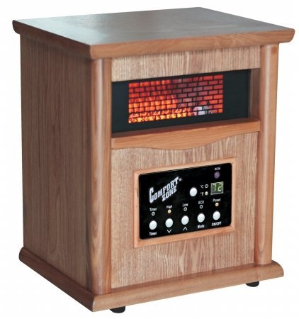 Howard Berger Co CZ2020O Wood Cabinet Heater With Remote Control Reviews