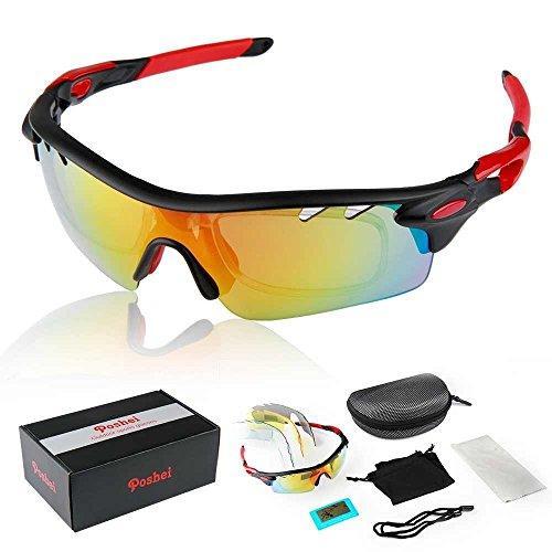 79e37e5f7ea2 POSHEI P01 Polarized UV Protection Sports Glasses For Men Or Women ...