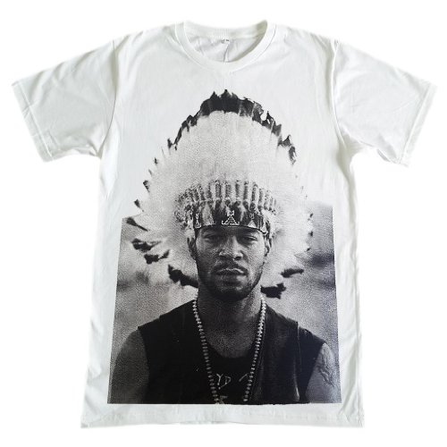 Tfm Men'S Kid Cudi Rapper Hip Hop T-Shirt S White
