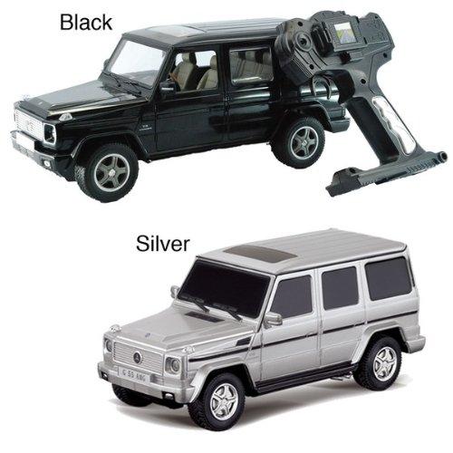 1:24 Scale Mercedes Benz G55 AMG Radio Control Car Black