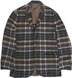 (ポロ ラルフローレン) テーラードジャケット メンズ マドラスチェック 紺 Polo Ralph Lauren BLAZER JACKET 058[並行輸入品]
