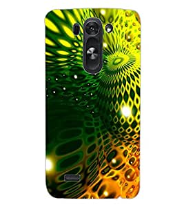 ColourCraft Abstract image Design Back Case Cover for LG D722K