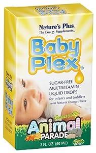Nature's Plus - Animal Parade Baby Plex Multi, 2 fl oz liquid