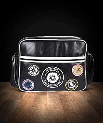 Fred Perry - Sac TWISTED WHEEL SHOULDER Noir