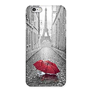 Impressive Tower Red Umbrella Multicolor Back Case Cover for iPhone 6 6S