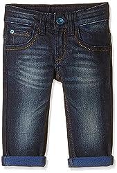 UCB Kids Baby Boys Jeans (16P4DENC0361I901_Dark Blue_0Y)