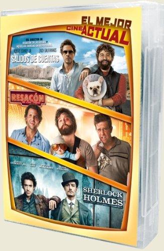 Salidos de cuentas + Resacón en las Vegas + Sherlock Holmes [DVD]
