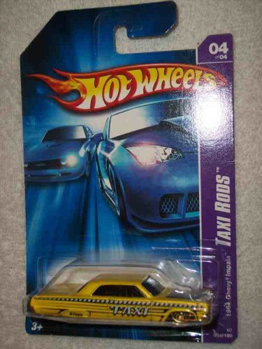 Taxi Rods Series #4 1964 Chevy Impala Dark Windows #2007-52 Collectible Collector Car Mattel Hot Wheels