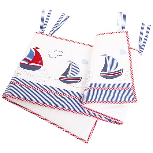 JoJo Maman Bebe Nautical Applique Bumper
