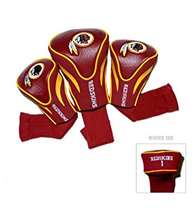 NFL Washington Redskins 3 Pack Contour Fit Headcover by Team Golf