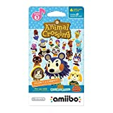 Nintendo Animal Crossing amiibo cards Series 3 (6-Pack) - Nintendo Wii U