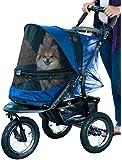 Pet Gear Jogger No-Zip Pet Stroller, Midnight River