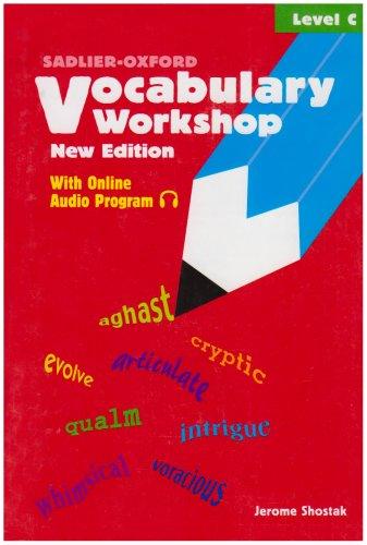 Sadlier Oxford Vocabulary Workshop Level C Toolfanatic Com