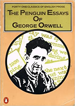 a collection of essays by george orwell amazon