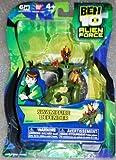 Ben 10 Alien Force 4 Inch Action Figure Swampfire DEFENDER NO TRANSLUCENT MINI ALIEN by Bandai Toys