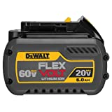 DEWALT DCB606 20/60V MAX FLEXVOLT 6.0 Ah Battery Pack