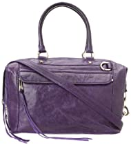 Hot Sale Rebecca Minkoff Mab Patent 10DILLCHO2 Shoulder Bag,Grape,One Size