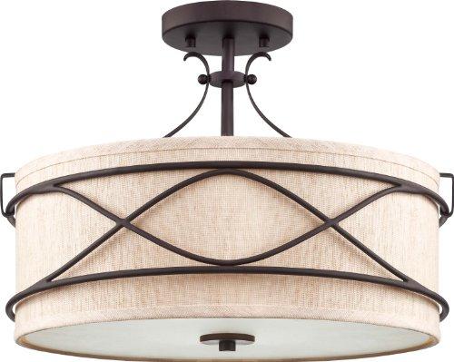 Volume Lighting V3112-79 Giovanni Semi Flush Ceiling Mount