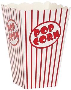 "Pop-corn boîtes 6 ""X4.25 « X4.25 » 10/Pkg-"