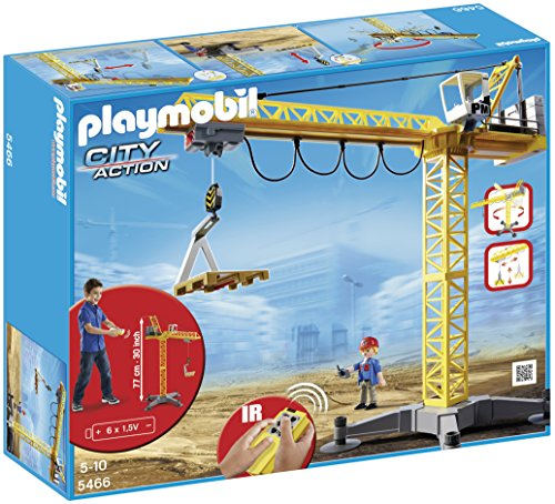 PLAYMOBIL Large Crane with IR Remote Control (Crane Remote compare prices)