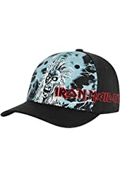 Iron Maiden Men's Blue First Album Baseball Cap Black