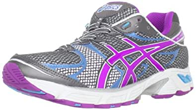 ASICS Women's GEL-Landreth 7 Running Shoe,Titanium/Silver/Blue,9.5 M US