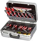 Parat 485.007-179 Werkzeugkoffer, silber mit CP-7 Stecksystem silber