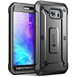 Galaxy S6 Active Case, SUPCASE Full-body Rugged Holster Case with Built-in Screen Protector for Samsung Galaxy S6 Active 2015 Release ** Will Not Fit Galaxy S6** Unicorn Beetle PRO Series - Retail Package (Black/Black)