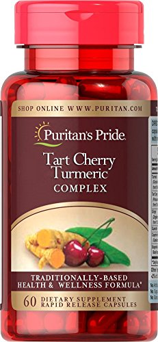 Puritan's Pride Tart Cherry Turmeric Complex-60 Capsules (Now Black Cherry Extract compare prices)